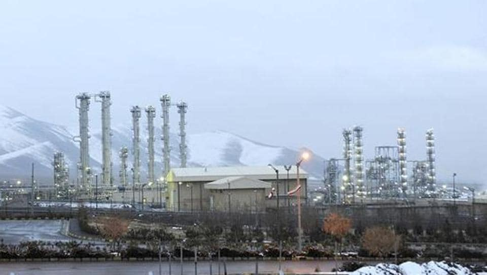 The picture shows a heavy water nuclear facility near Arak. Iran and six world powers reached a landmark nuclear deal on July 14, 2015 meant to place long-term verifiable limits on nuclear programs that Tehran could modify to make atomic arms.