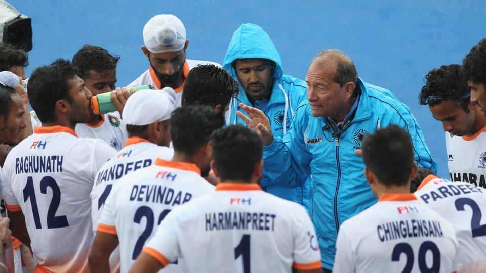 Roelant Oltmans,Hans Streeder,Indian hockey team