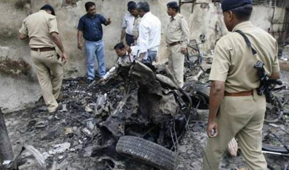 A site hit by the 2008 Ahmedabad serial blasts.