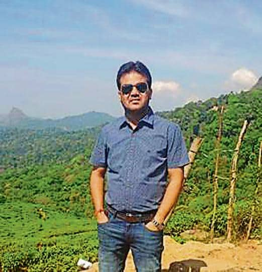 Gurfan (in pic) and Rajesh was killed in the accident.