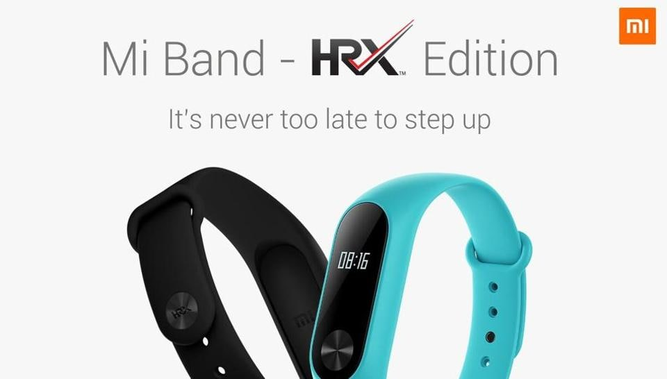 Xiaomi Mi Band HRX Edition launched in India at Rs. 1299