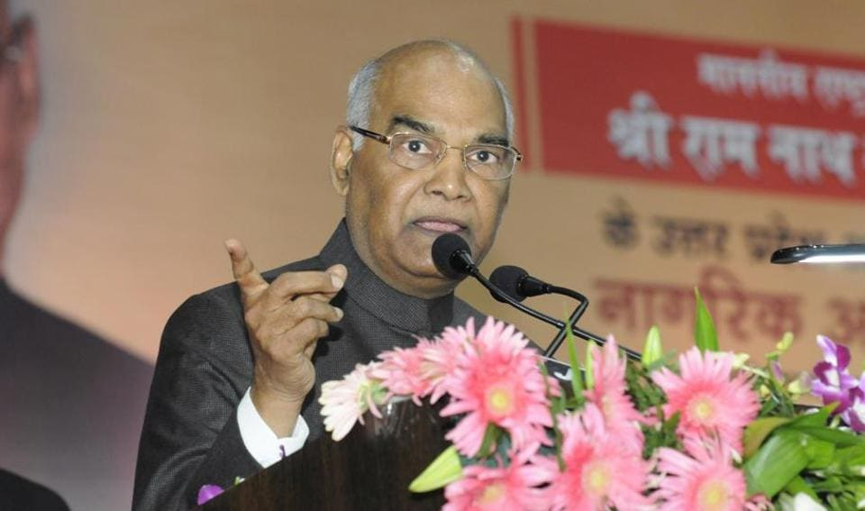 Kovind expressed gratitude to the people of UP and described it as a place where cultures have evolved and religions have emerged.