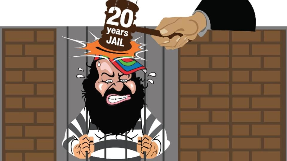 Ram Rahim  was convicted on August 25 by a CBI special court in Panchkula on two counts of rape of female disciples.
