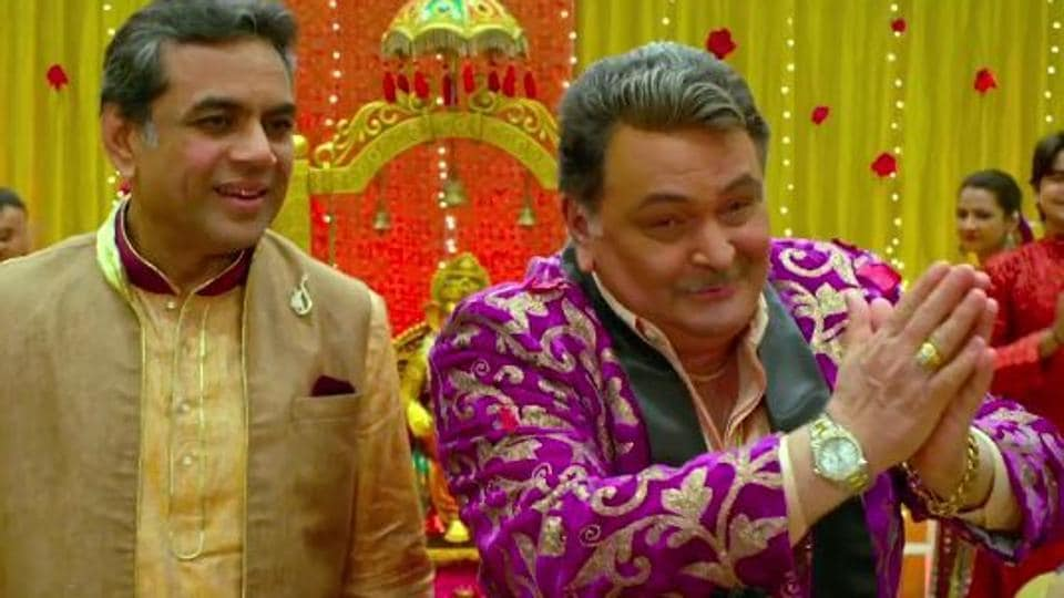 Paresh Rawal and Rishi Kapoor play neighbours in Patel Ki Punjabi Shaadi.