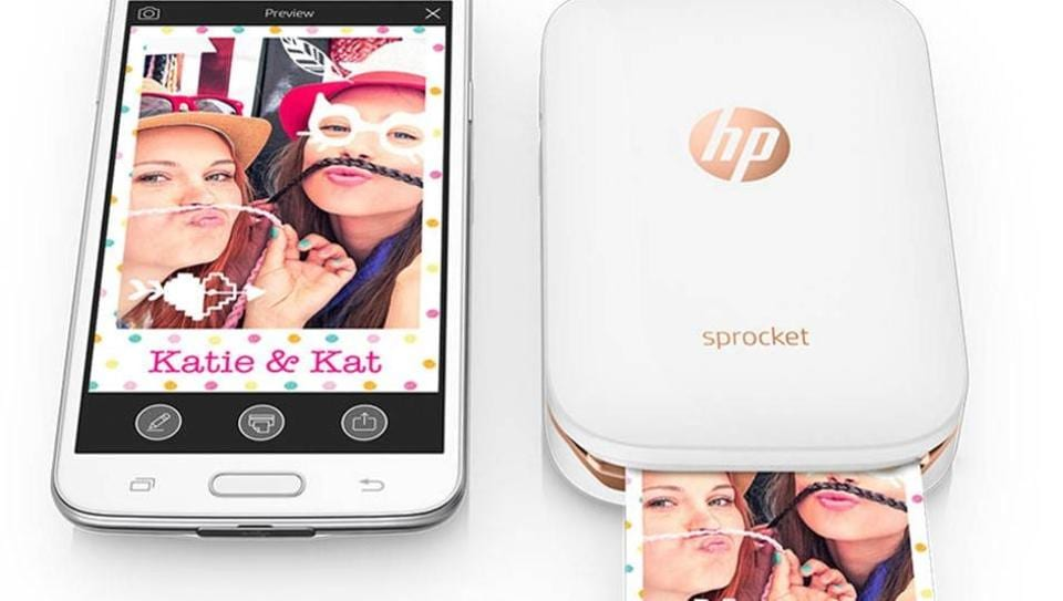 HP launches Sprocket, a pocket-sized printer for selfie-loving millennials