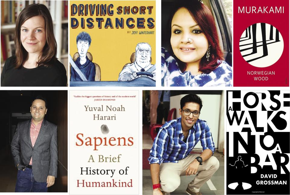 Five top authors share their pick of the month.