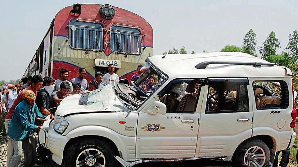 unmanned level crossings,Ferozepur railway division,269 unmanned crossings