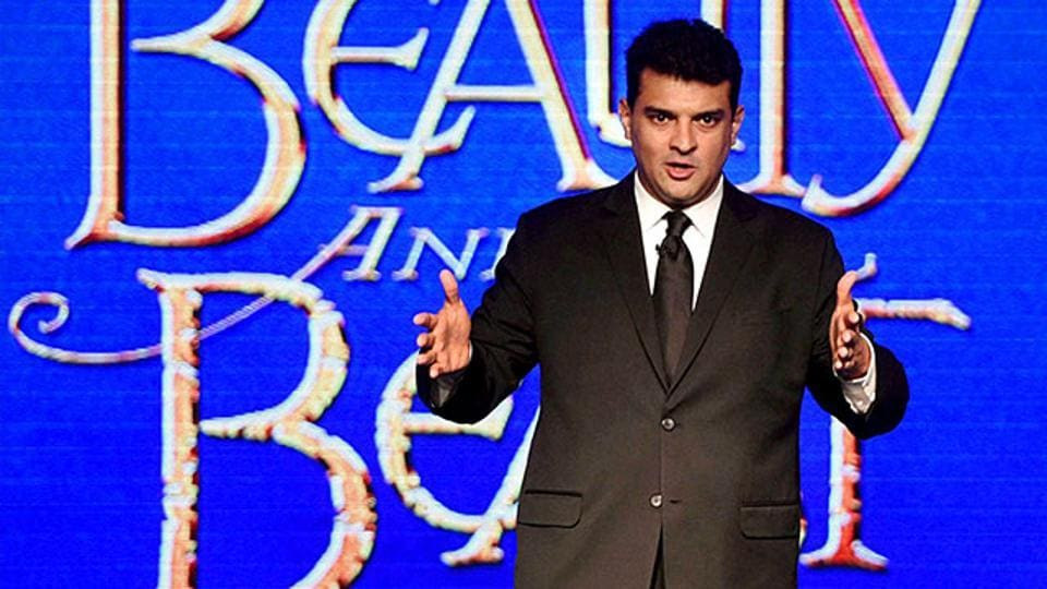 Film producer and managing director of Disney India Siddharth Roy Kapur during the announcement of Beauty and the Beast Broadway show in India.