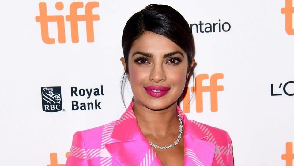 Priyanka Chopra attends the Pahuna: The Little Visitors premiere during the 2017 Toronto International Film Festival at Scotiabank Theatre on September 7, 2017 in Toronto, Canada.