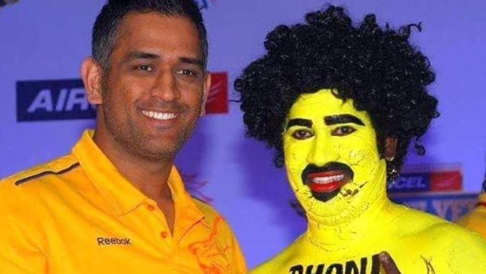 Saravanan Hari is an ardent fan of IPL team Chennai Super Kings and MS Dhoni.