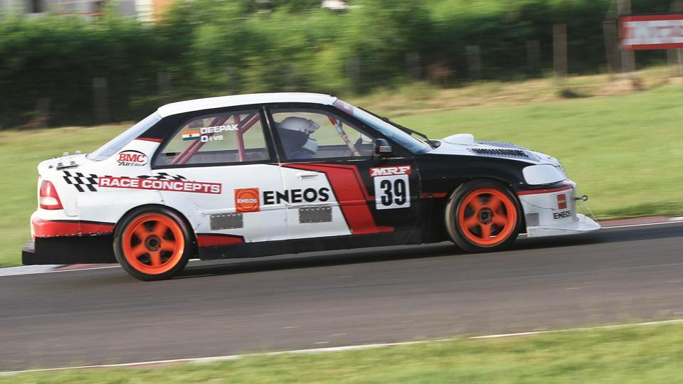 Deepak Paul Chinnappa is in the second position in the Indian Touring Cars category of the Indian National Racing Championship .