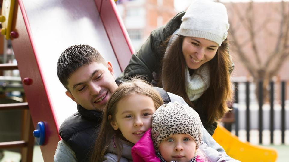 Many parents and caregivers go down a slide with a young child on their lap without giving it a second thought.