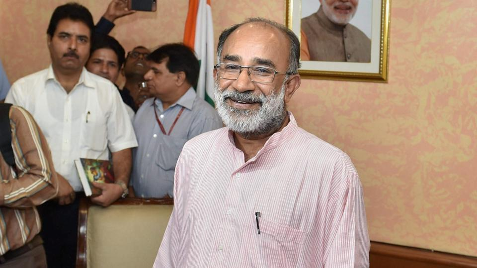 Alphons Kannanthanam is among the newly  inducted ministers in Prime Minister Narendra Modi.