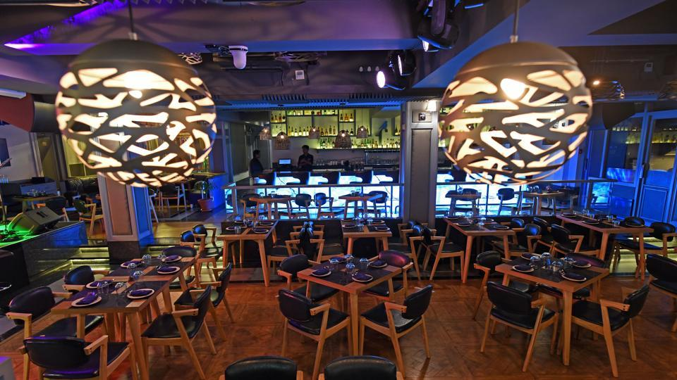 The retro-chic lounge bar pays rich homage to the nightclubs of the 1970s.