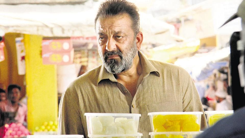 Sanjay Dutt during last day of Bhoomi shooting in Vasai, Mumbai.