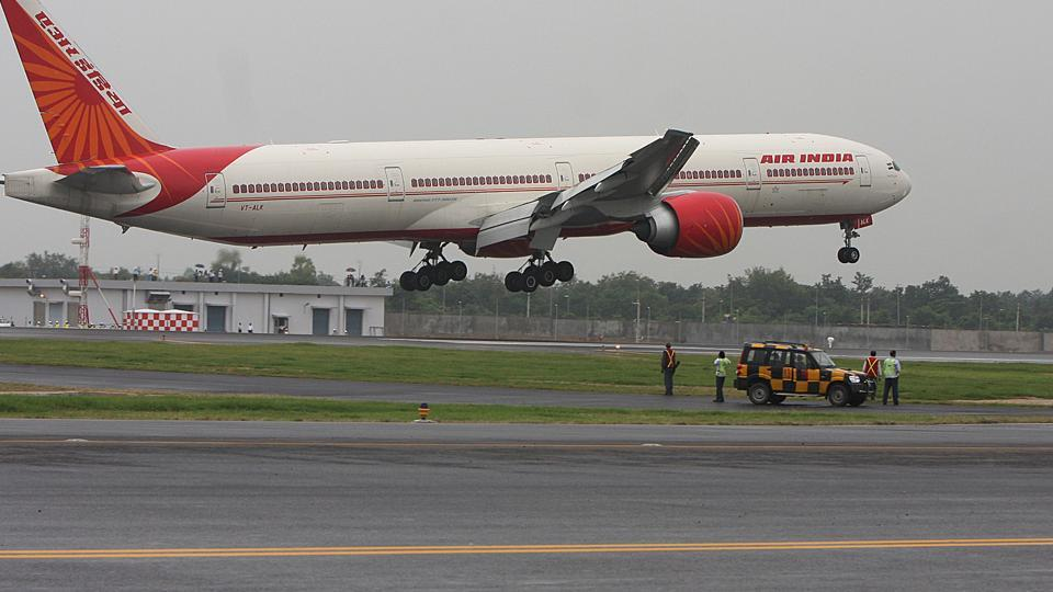 Air India,Delhi to Copenhagen,Flight