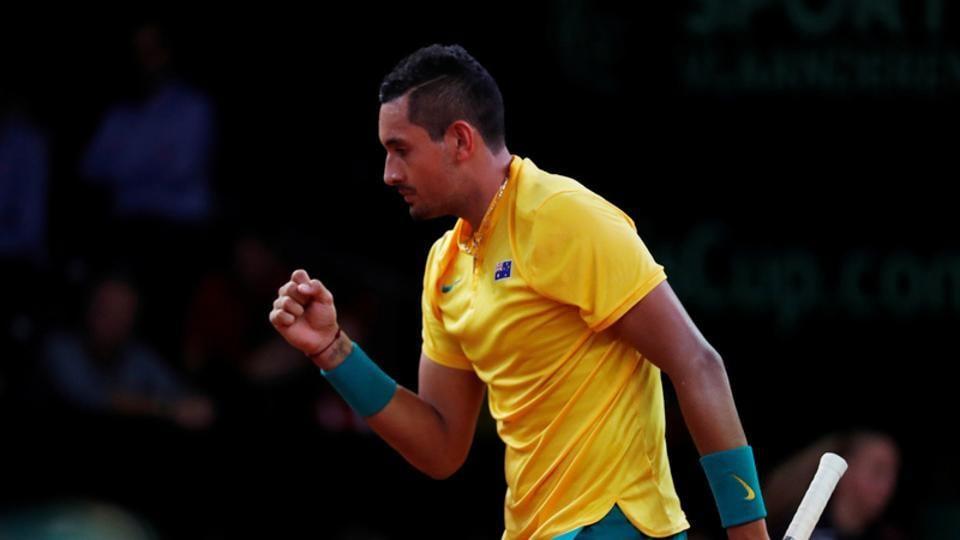 Davis Cup,Nick Kyrgios,David Goffin