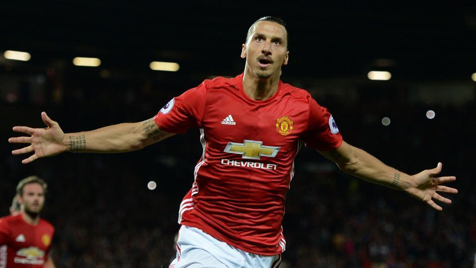 Zlatan Ibrahimovic signed a new one-year contract with Manchester United earlier this year.