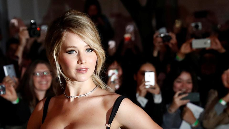 Jennifer Lawrence played the heroine Katniss Everdeen in the hit movie franchise The Hunger Games.