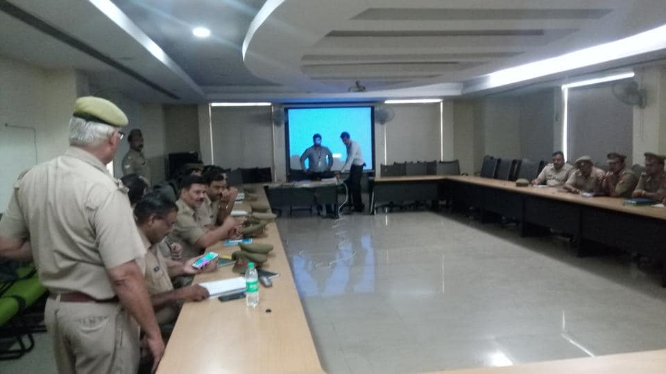 A seminar was held on cases of digital payment fraud in SSP office Surajpur in Greater Noida.