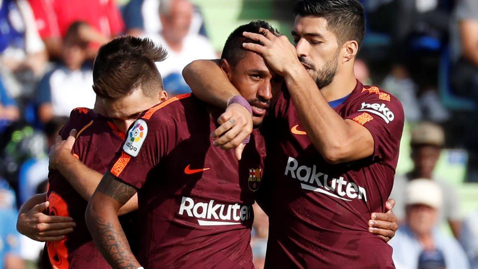 FCBarcelona,Paulinho,Ousmane Dembele