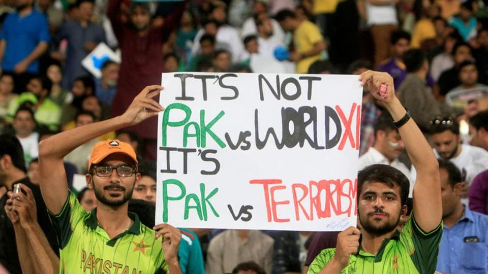 International cricket returned to Pakistan after a gap of two years and fans expressed their gratitude to the ICCWorld XIfor putting up such a marvellous effort. (REUTERS)