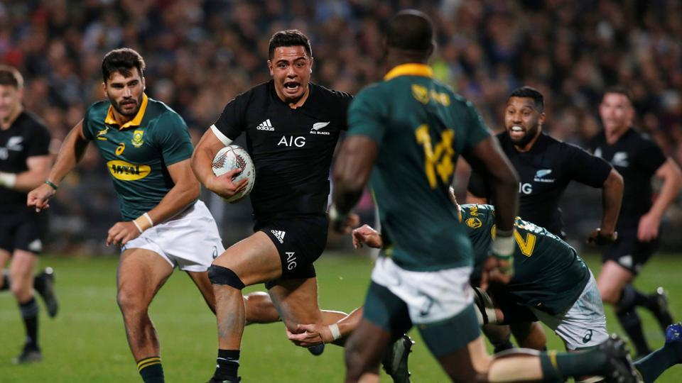 New Zealand All Blacks thrashed South Africa by a record margin of 57-0 as they continued their dominance in Rugby.