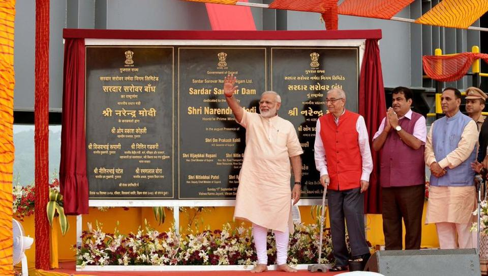 PM Modi said no other project in the world had faced such hurdles as the Sardar Sarovar Dam on Narmada.