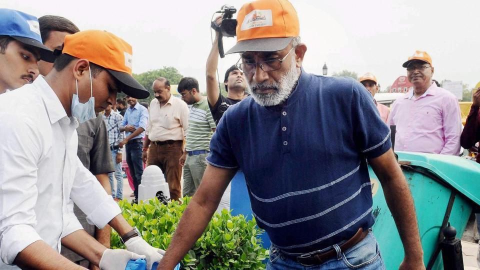 Alphons,Clean India,Modi