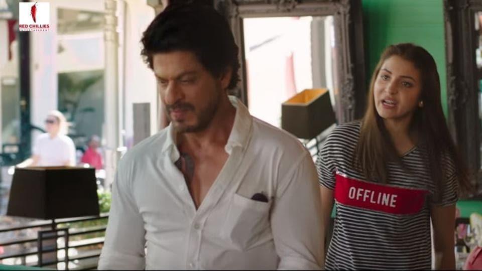Anushka played a Gujarati girl while SRK was seen as a Punjabi guy in Jab Harry met Sejal.