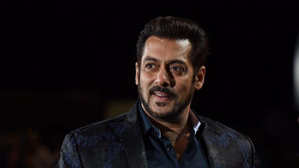 Salman Khan during the green carpet of IIFA Awards 2017 in New York.