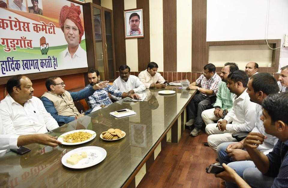 Haryana Congress has decided to extend support to 10 independent candidates.