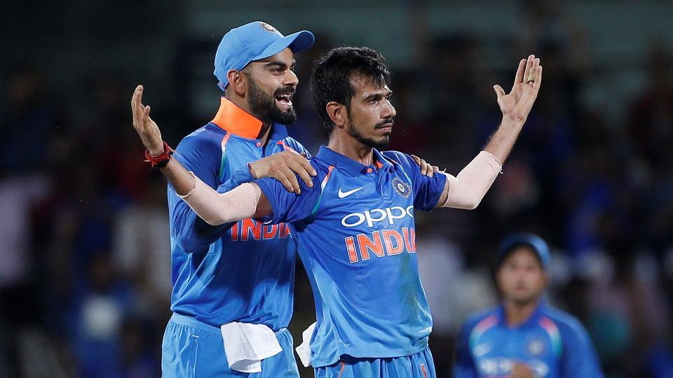 Yuzvendra Chahal finished with figures of 3/30. (REUTERS)