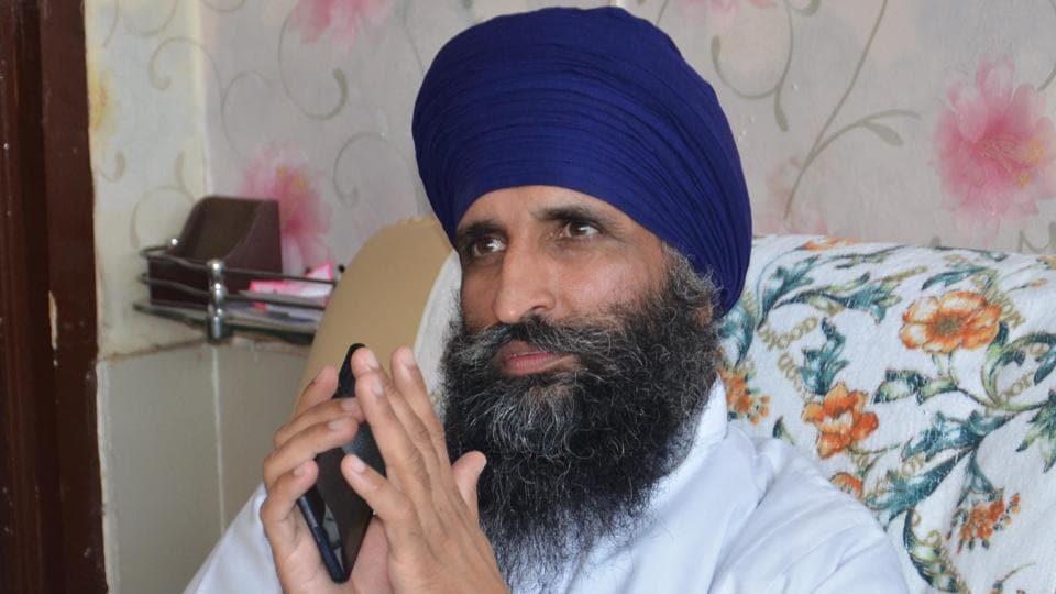 Giani Gurmukh Singh, former jathedar of Takht Damdama Sahib.