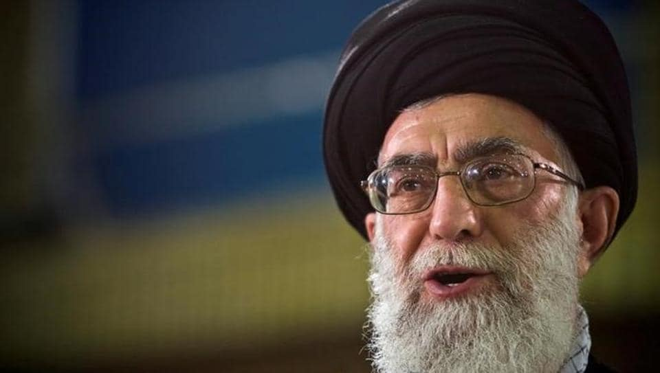 """Ayatollah Ali Khamenei said Iran would react strongly to any """"wrong move"""" by the United States on Tehran's nuclear accord with world powers."""