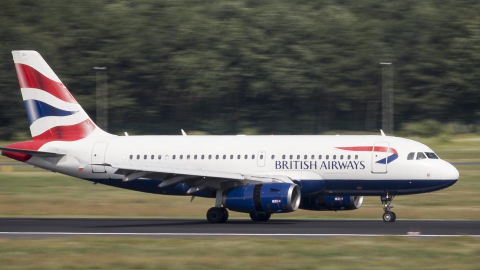 British Airways,British Airways flight,Paris