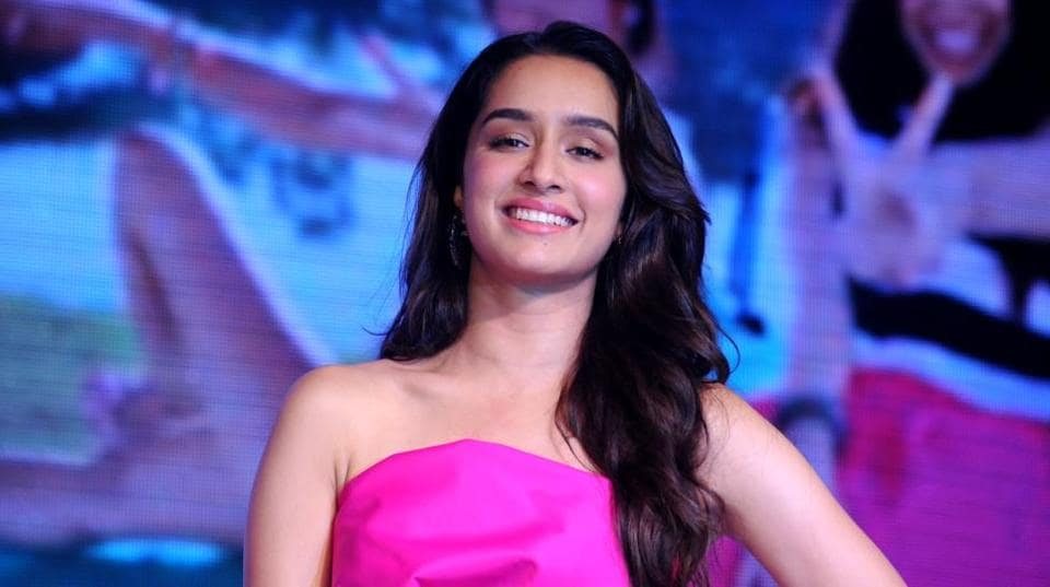 Shraddha Kapoor poses during a promotional campaign in Mumbai.