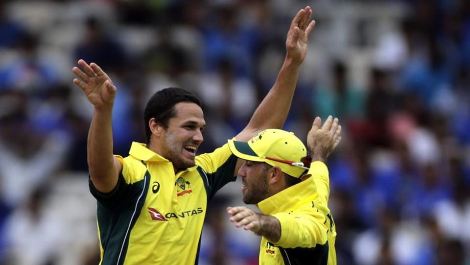 Nathan Coulter-Nile also picked the wicket of Manish Pandey as India were reduced to 11/3. (AP)