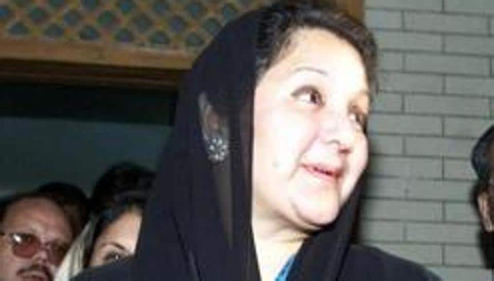 Maryam, Sharif's daughter, led the campaign for the seat in Lahore, the family's political stronghold, as her mother, Kalsum (in picture), is being treated for throat cancer in London.