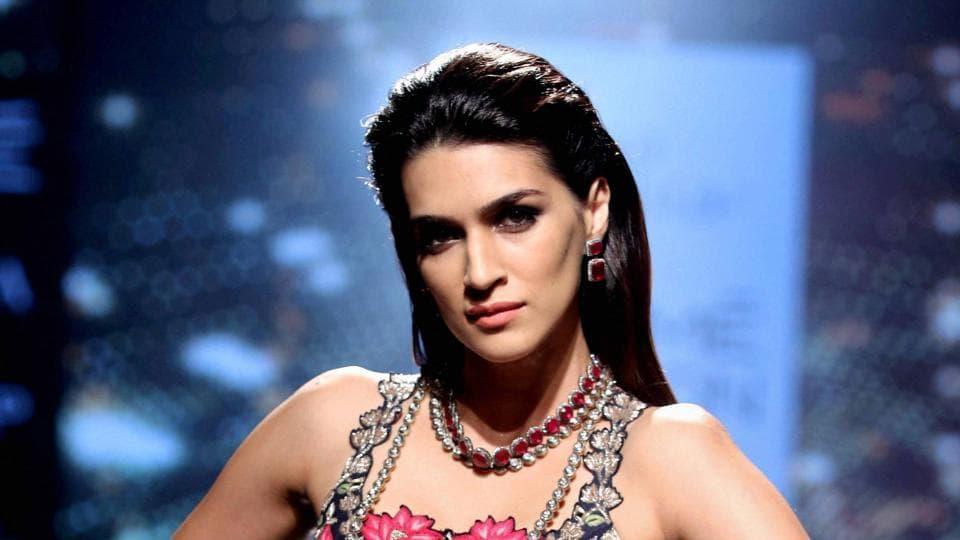 Kriti Sanon made her acting debut in 2014 with Mahesh babu's Telugu film 1: Nenokkadine.