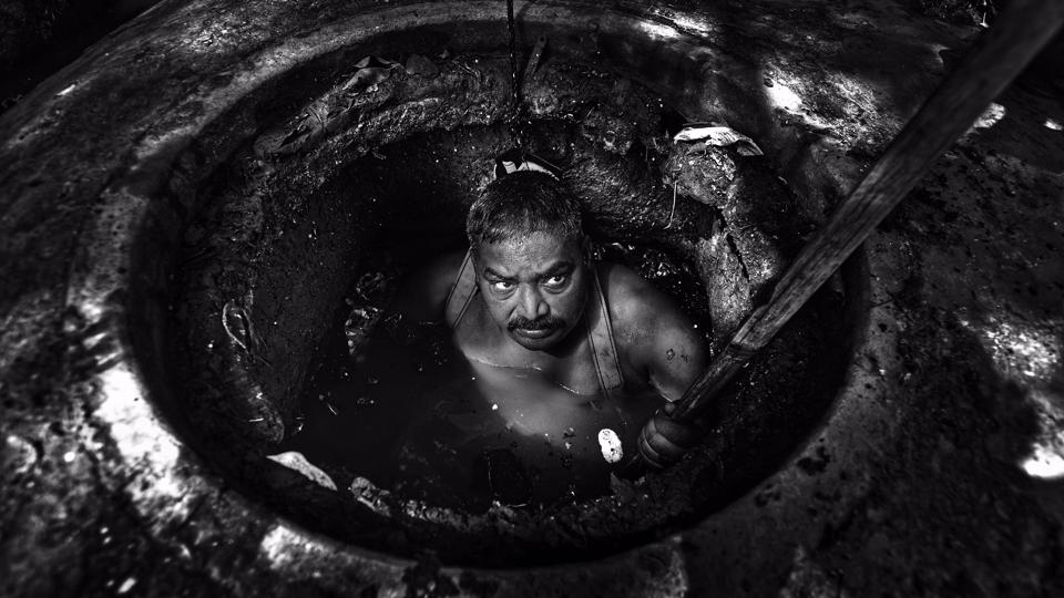 Ten sewer workers in Delhi have died in a little over a month owing to exposure to toxic gases in sewers they were cleaning. Death of workers in sewers is not new. It was also reported from Mumbai and Bengaluru earlier this year. A look at the daily challenges faced by these workers. (Ravi Choudhary / HT Photo)