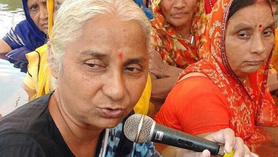 Jal Satyagraha,MP,Modi