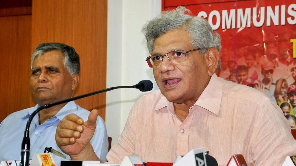 CPI (M),Rajya Sabha,Sitaram Yechury