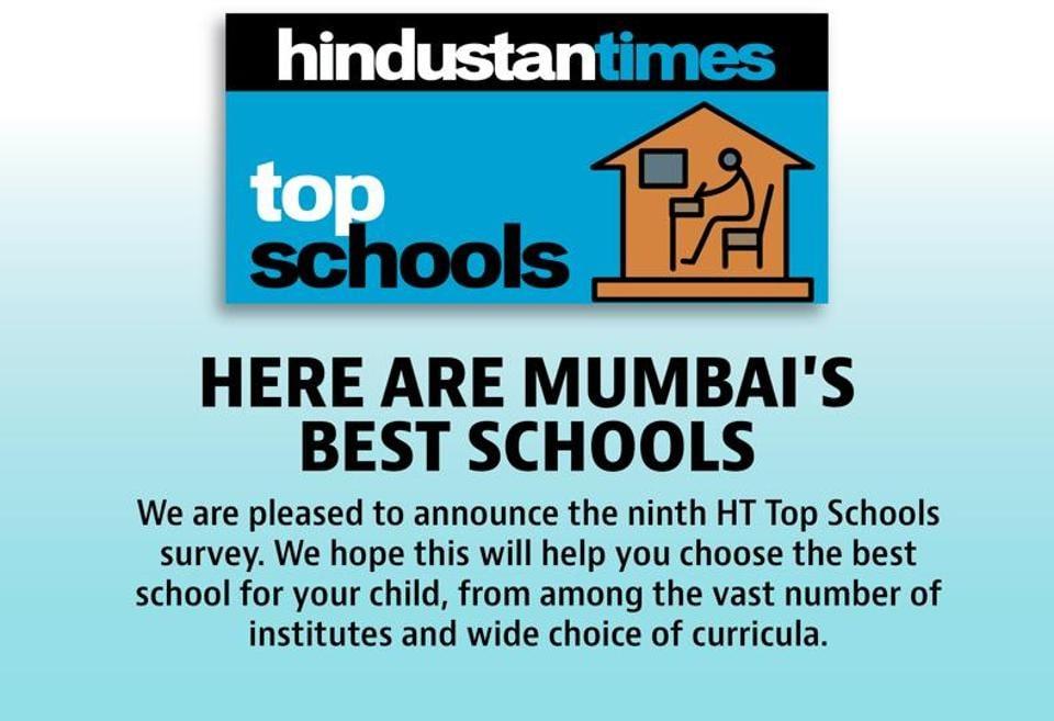 HT Top Schools survey 2017,Best schools in Mumbai',Education
