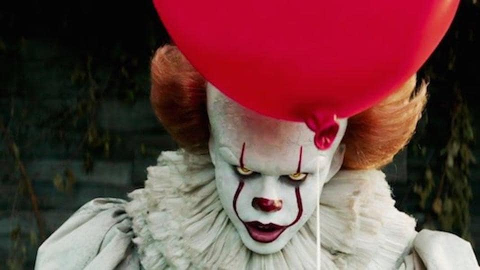 Bill Skarsgard as Pennywise the Dancing Clown. The film is largest September release at the box office.