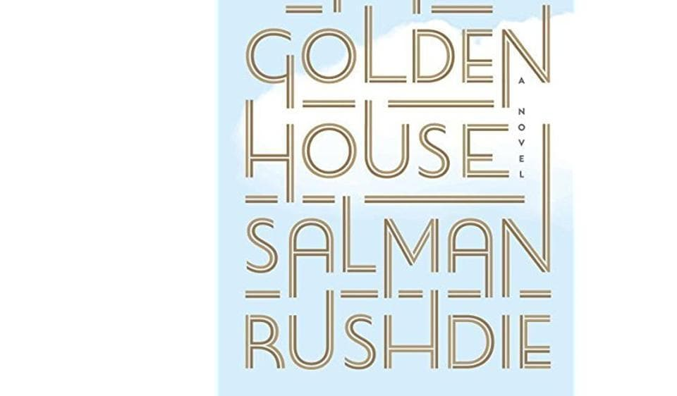 Book cover of Salman Rushie's The Golden House.