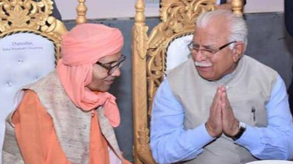 The Alwar bypoll has been necessitated following the demise of the sitting BJP MP Mahant Chandnath (left).