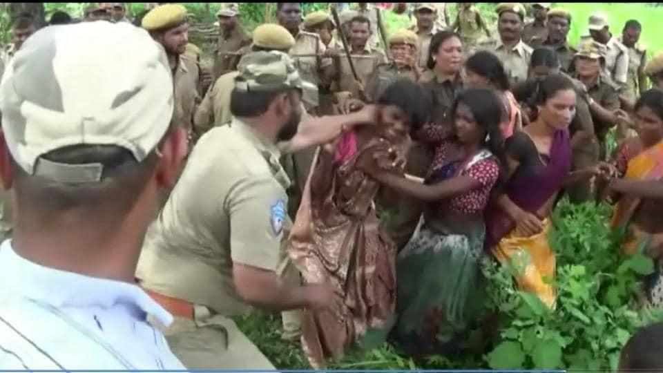 Gothi Koya tribals,Jalagalancha,Telangana