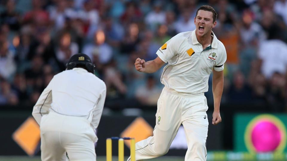 Josh Hazlewood will be one of Australia's main pacers going into the 2017-18 Ashes against England.