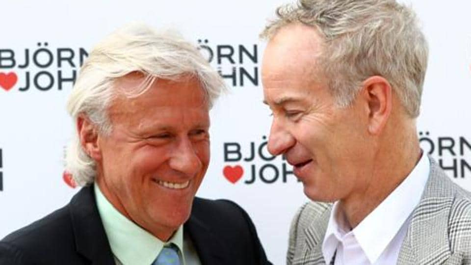 John McEnroe and Bjorn Borg will captain the two sides in this year's Laver Cup tennis tournament.